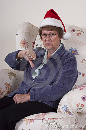bah-humbug-mature-senior-woman-no-christmas-spirit-17605102